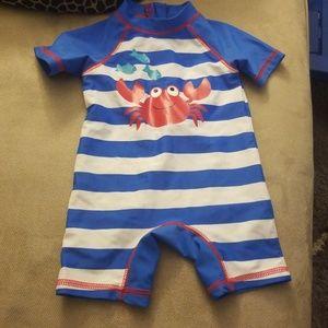 12 month one piece rashguard swimsuit